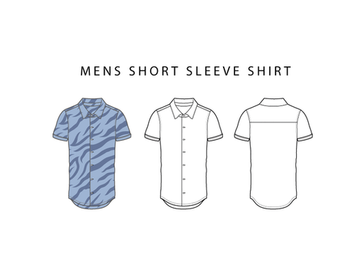 Short Sleeve Shirt - Free Shirt Vector