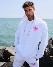 Scar Tissue White Sweat Shorts and Hoodie