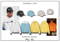 Mon Pere Hooded Sweat and Cap