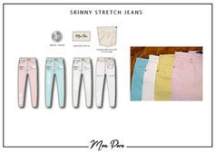 Mon Pere Skinny Jeans