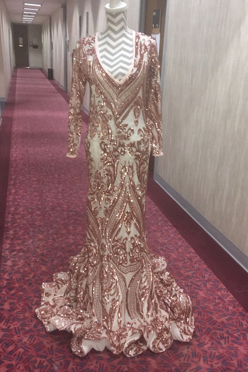 Rose Golden Gown