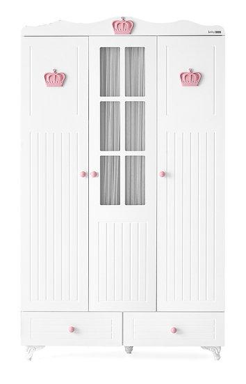 prenses 3 kapılı dolap