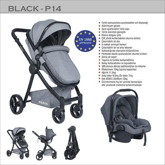 Prava Travel Sistem Black P14