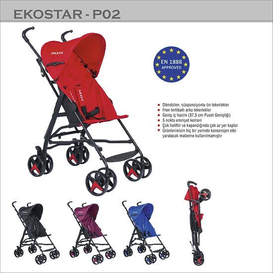 Ekostar P02 Baston Bebek Arabası