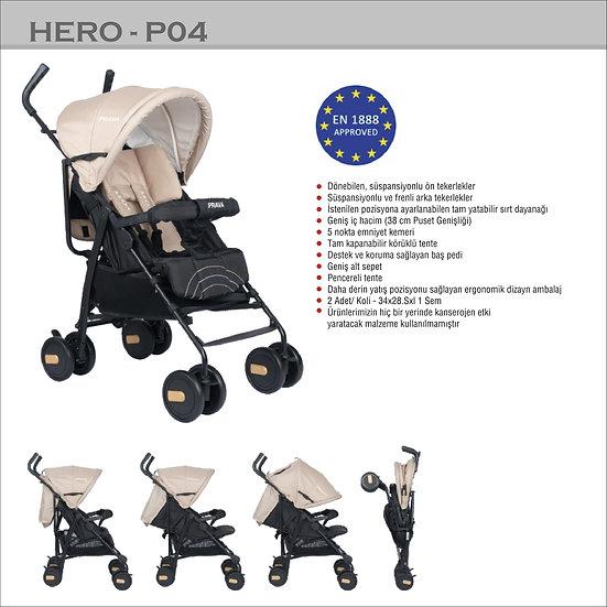 Baston Bebek Arabası Hero P04