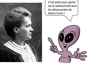 Marie Curie et la radioactivité Nuc#3