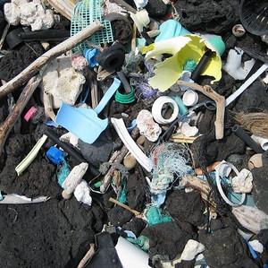 Les plastiques dans l'océan
