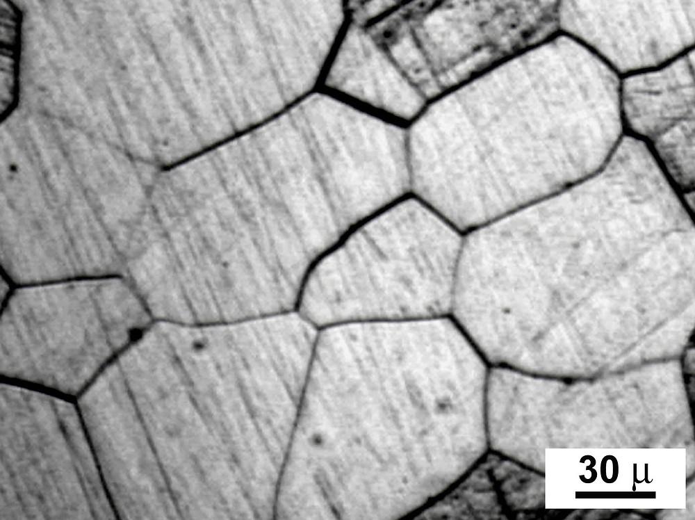Les joints de grains et les multiples cristaux juxtaposés