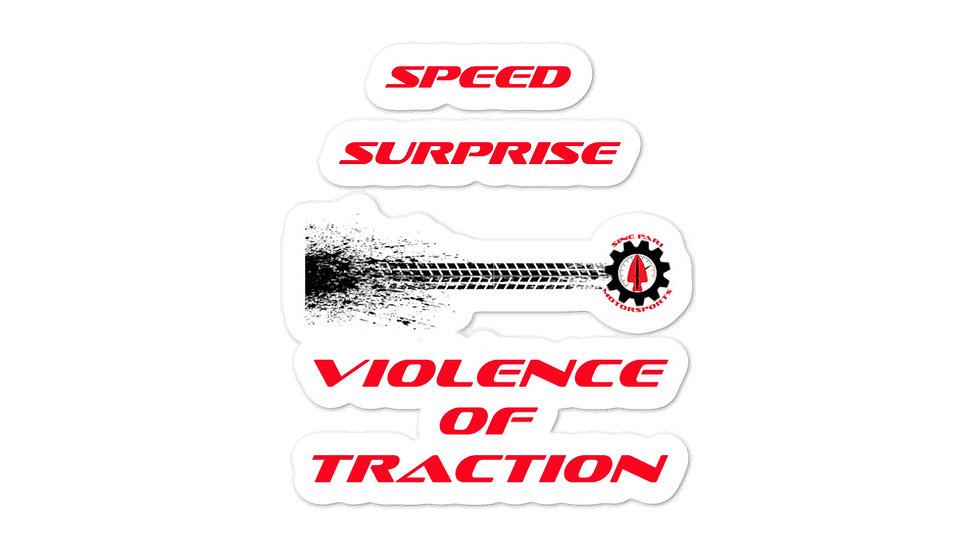 Violence of Traction stickers