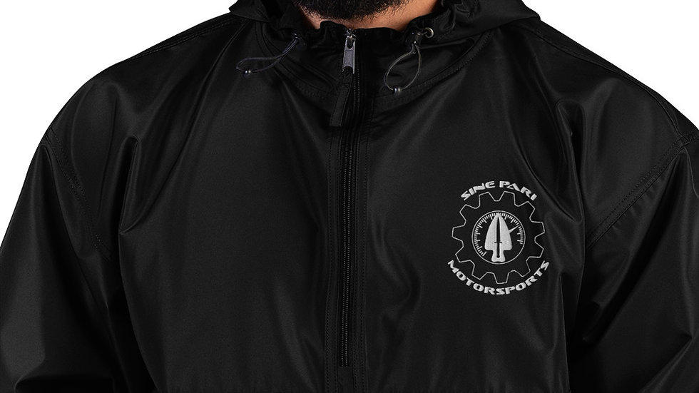 Sine Pari Motorsports Embroidered Packable Jacket