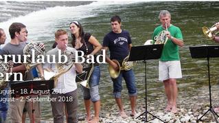Teaching during Bläserurlaub Bad Goisern