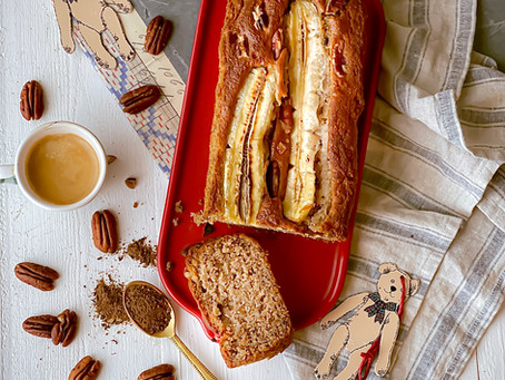 BANANA BREAD vegano, ricetta facile e con pochi ingredienti