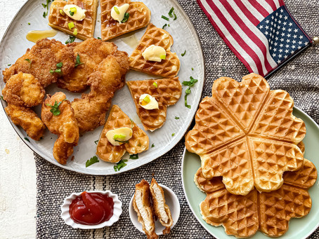 CHICKEN TENDER (POLLO CON I WAFFLES)
