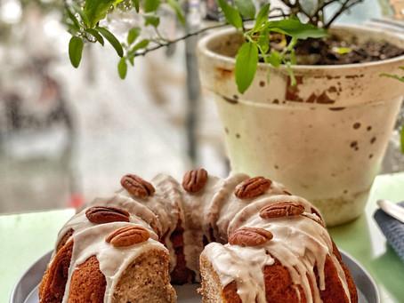 Pecan & wisky Bundt cake
