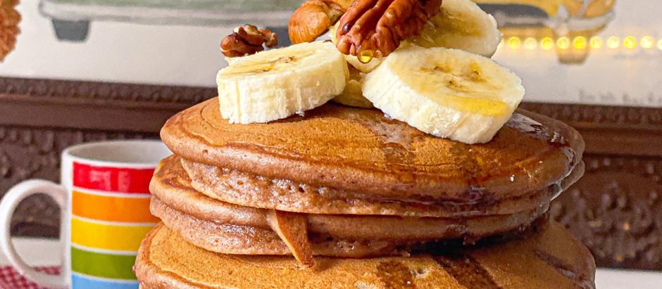 Pancakes (al cacao e yogurt greco)