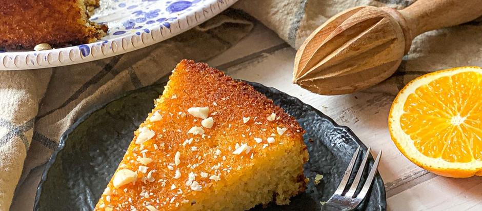 Polenta cake