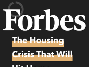 Eric George on the Senior Housing Crisis in Forbes