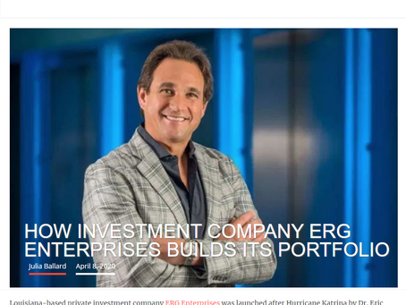 Silicon Bayou News Interviews Eric George about Investment Philosophy