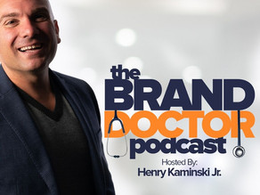 Eric George Featured on The Brand Doctor Podcast