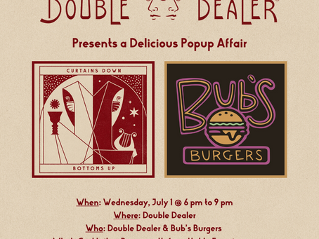 Double Dealer NOLA and Bub's Burgers Collaborate