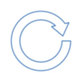Icon depicting benefits of sustainabilit