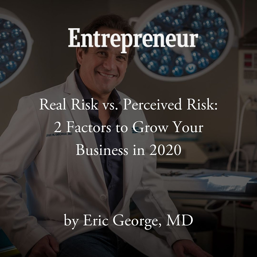 Eric George MD article in Entrepreneur