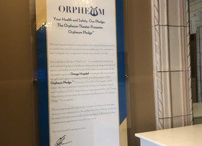 Orpheum Theater Presents New COVID-19 Response Program