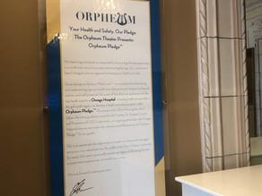 Orpheum Theater Presents New COVID-19 Response Program