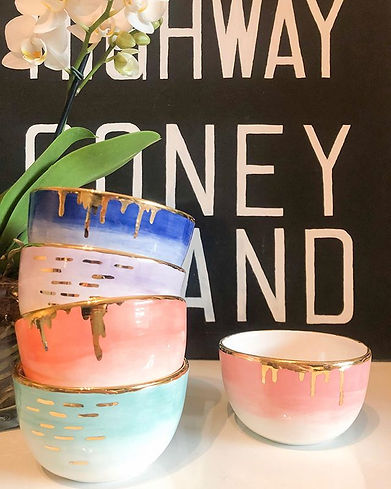 These ceramic vessels will soon be fille