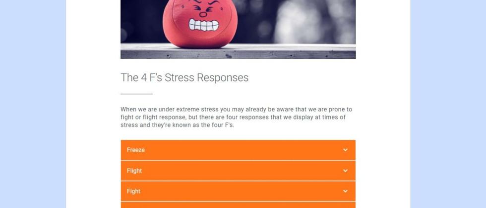 4F's f stress