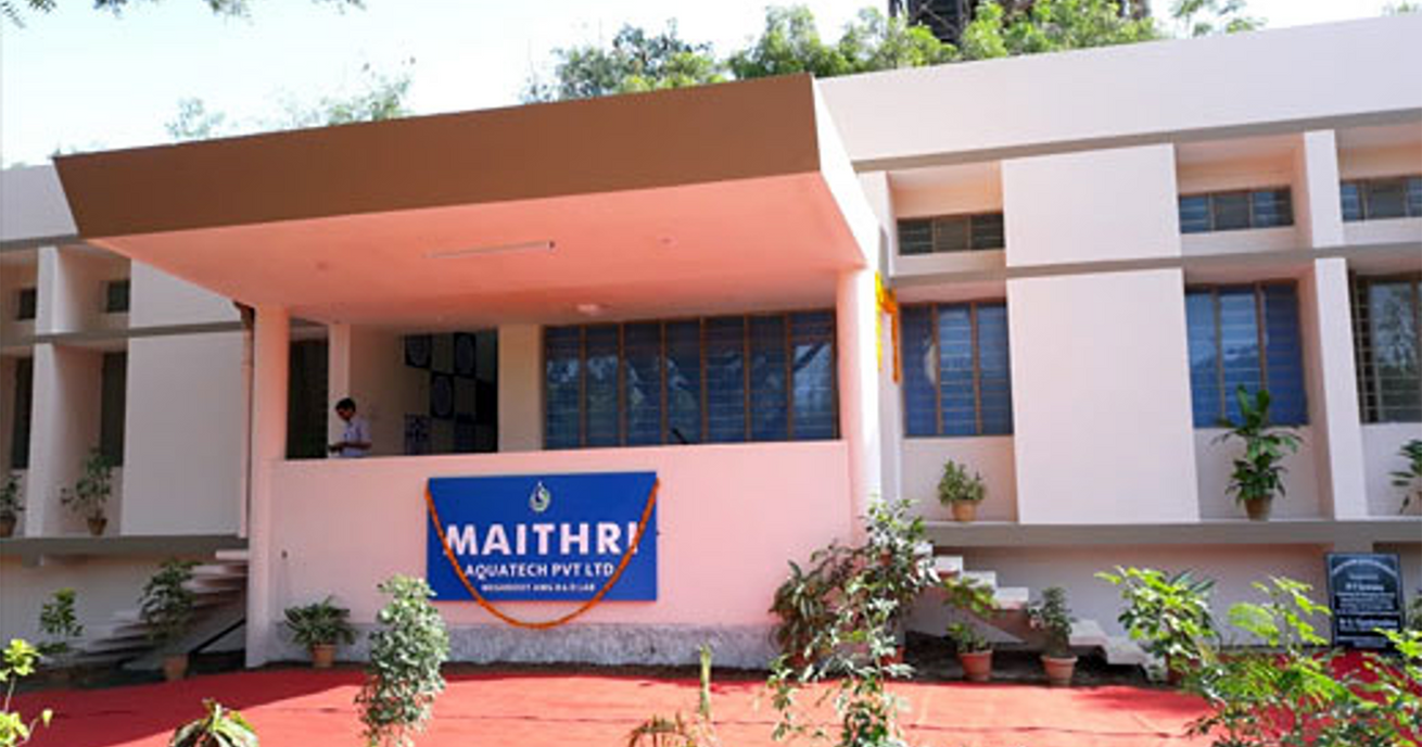 Maithri Aquatech's First R&D Centre in Hyderabad