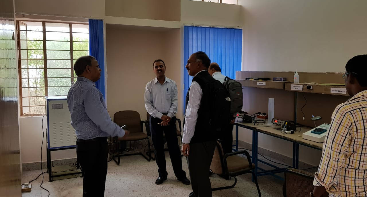 Dr. Nalin Shinghal, Chairman and Managing Director of CEL paying a visit to the Maithri Aquatech R&D Lab