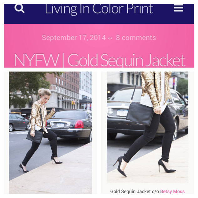 Living in Color Print