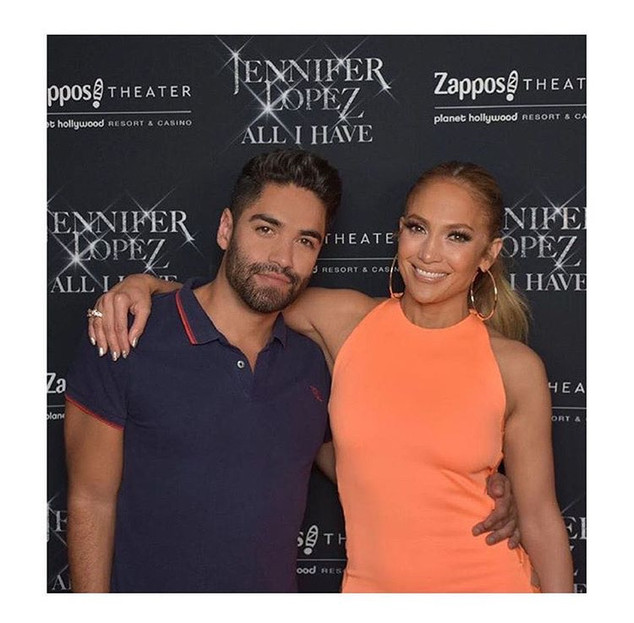Jennifer Lopez and Jorge Perez