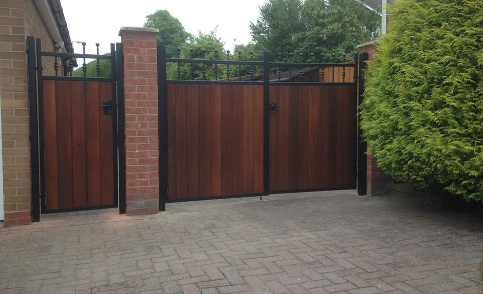 Estate & Side Gate Set - View more on Instagram