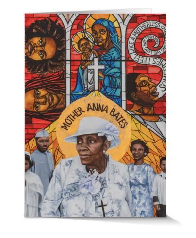 Mother Anna Bates Card
