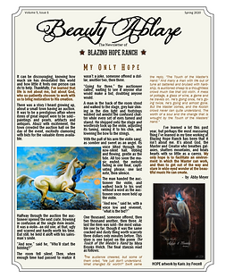 Beauty Ablaze Newsletter