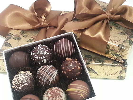 Truffles,  9 piece gift box