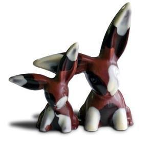 Dark Chocolate Floppy Eared Bunny