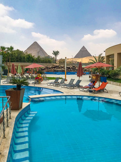 Erika_piscina Hotel Le Meridien Cairo