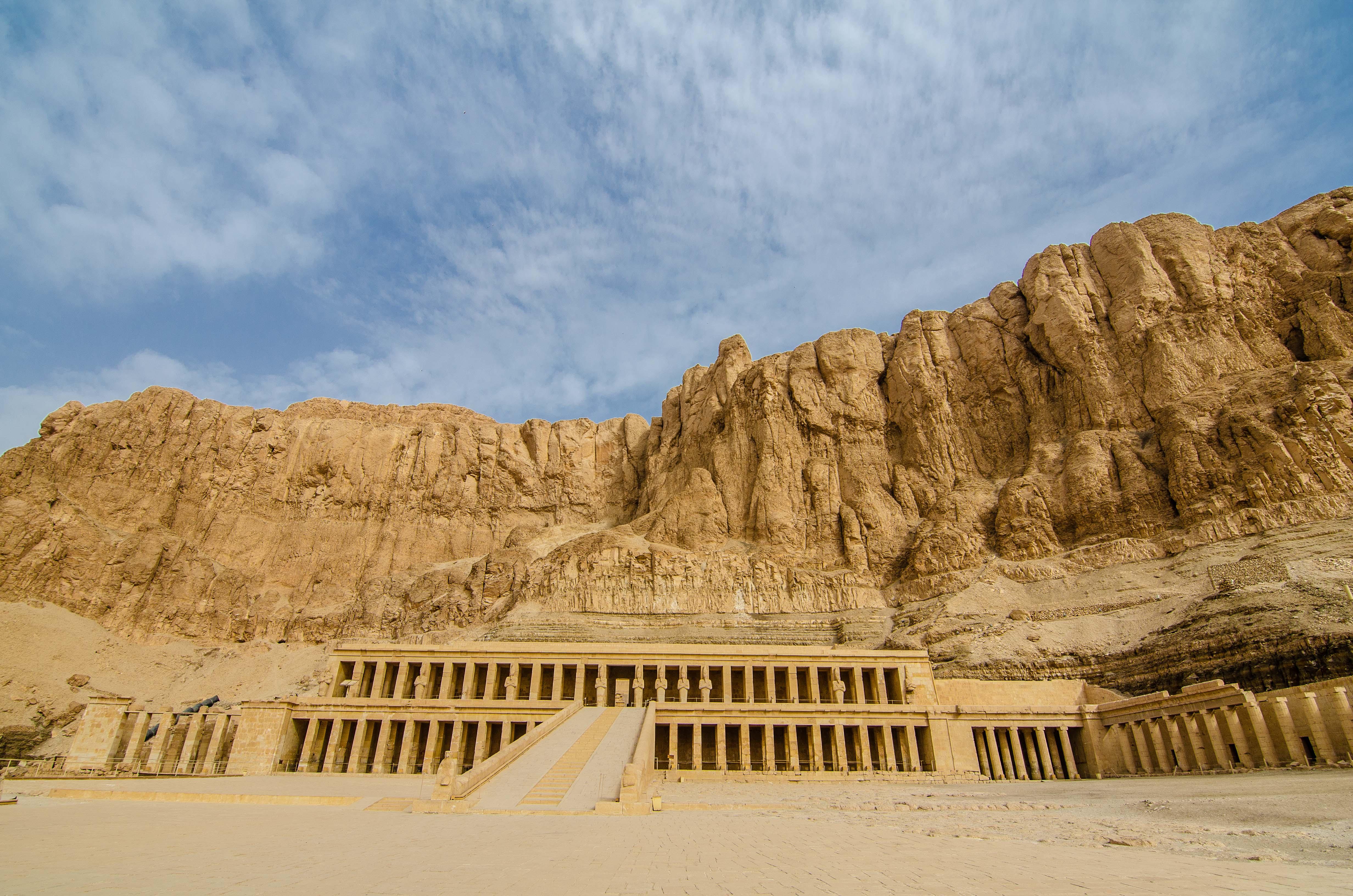 Erika_Templo de Hatshepsut 1
