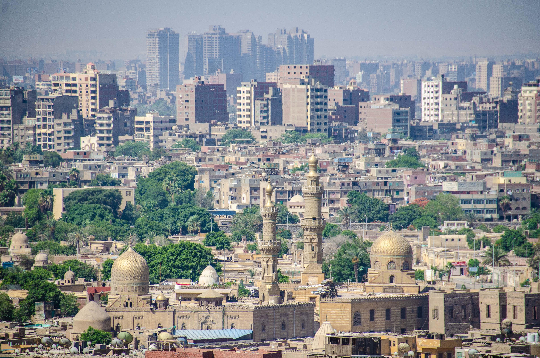 Erika_vista da cidade do Cairo