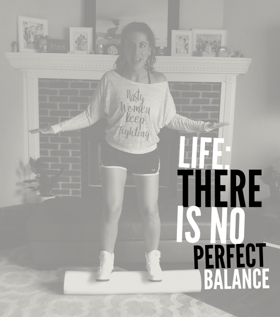 Life: There Is No Perfect Balance