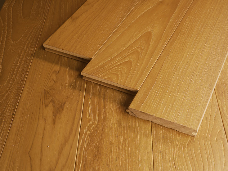 緬柚實木地板-浮雕自然漆