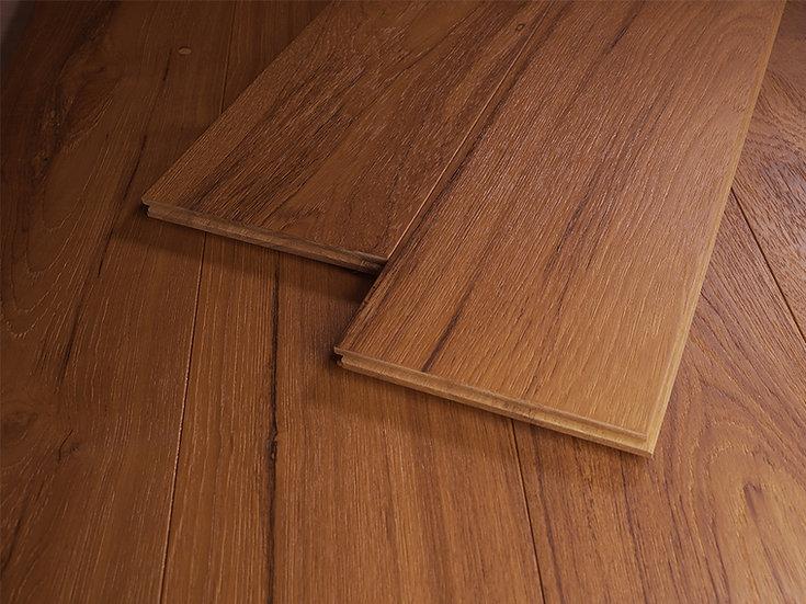 緬柚實木地板-浮雕自然漆自然級