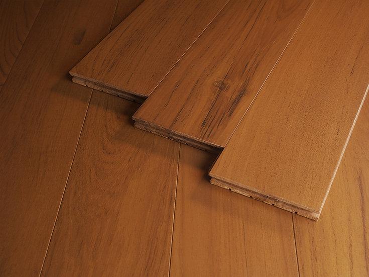 緬柚實木地板-平面自然漆
