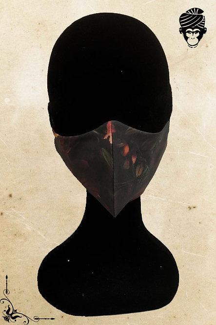 Mondmasker Dames DARK FLOWER