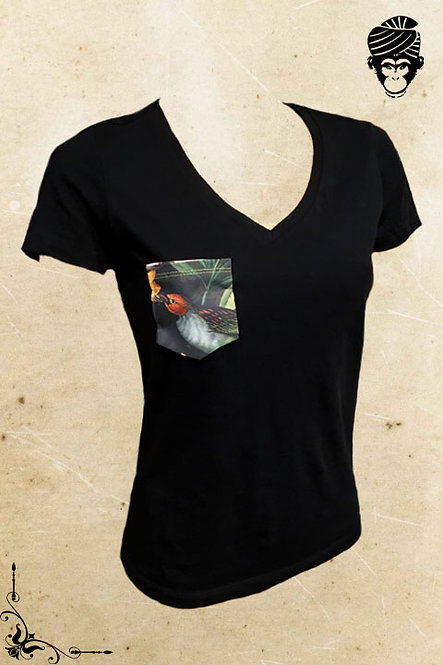 T-Shirt Dames FLOWER