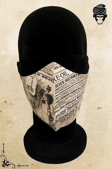 Mondmasker Heren NEWSPAPER