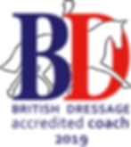 British Dressage 2019 accredited coach